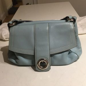 Marc Jacobs baby blue leather purse vintage